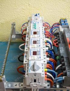Вводная автоматики щита и АВР